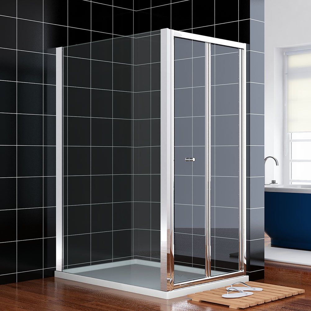 Crown 1000mm bifold shower door for 1000mm shower door