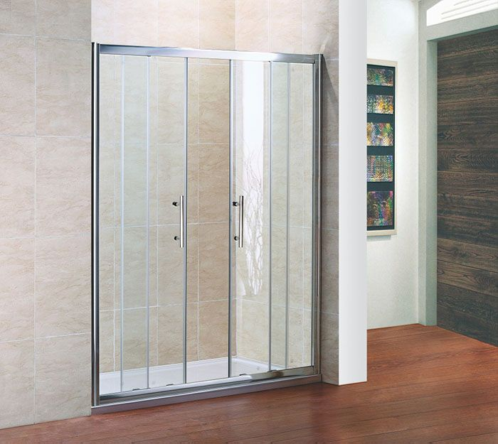 Crown 1200mm double sliding shower door for 1200mm shower door sliding