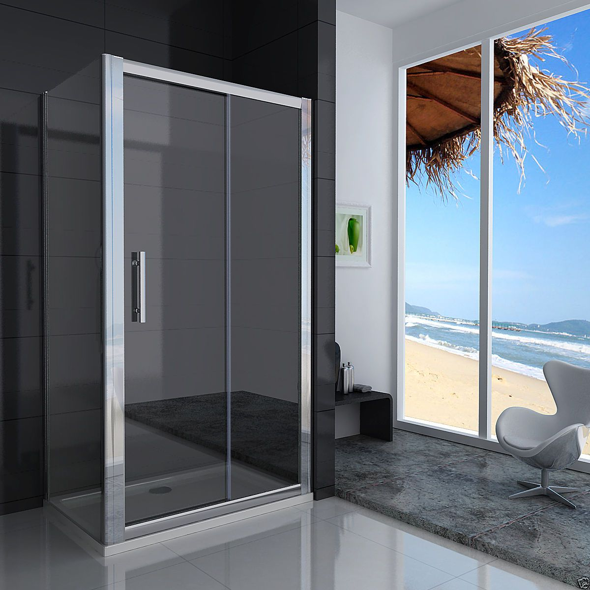 Crown 1500mm sliding shower door for 1300 mm sliding shower door