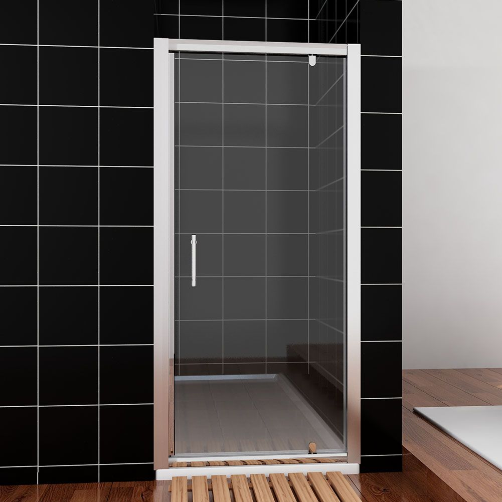 Crown 800mm pivot shower door for 1300 mm sliding shower door