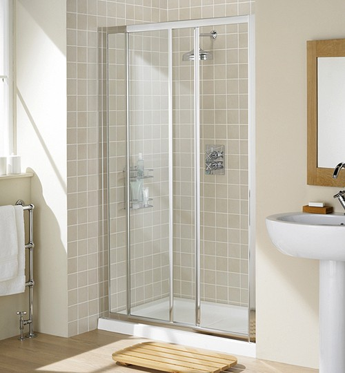 Lakes 1000mm slider shower door for 1000mm shower door