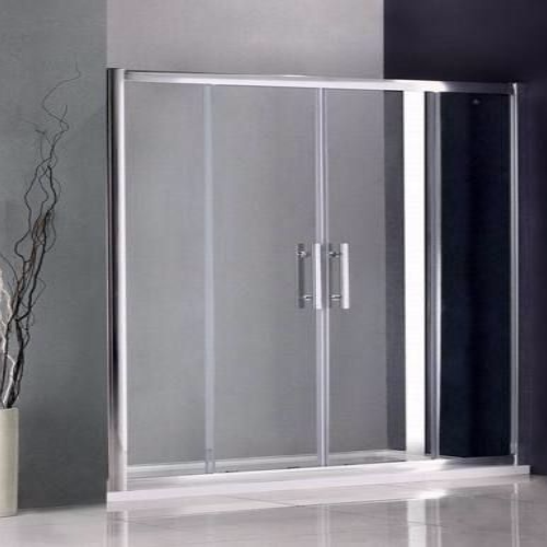 1600MM DOUBLE SLIDING SHOWER DOORS