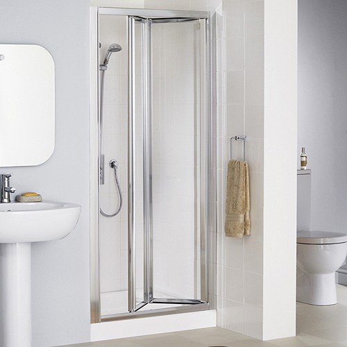 Lakes 700mm Framed Bi Fold Shower Door