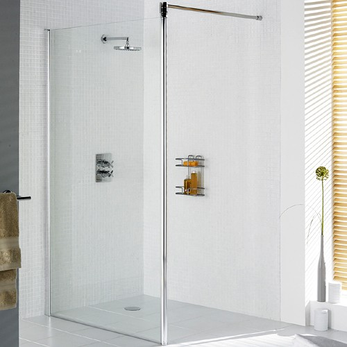 Lakes 8mm Wet Room Screen Including Bracing Arm